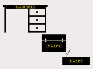 Cabinets, Cases, & Bases