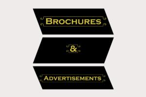 Advertisements & Brochures