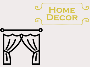 Patterns for Home Decor