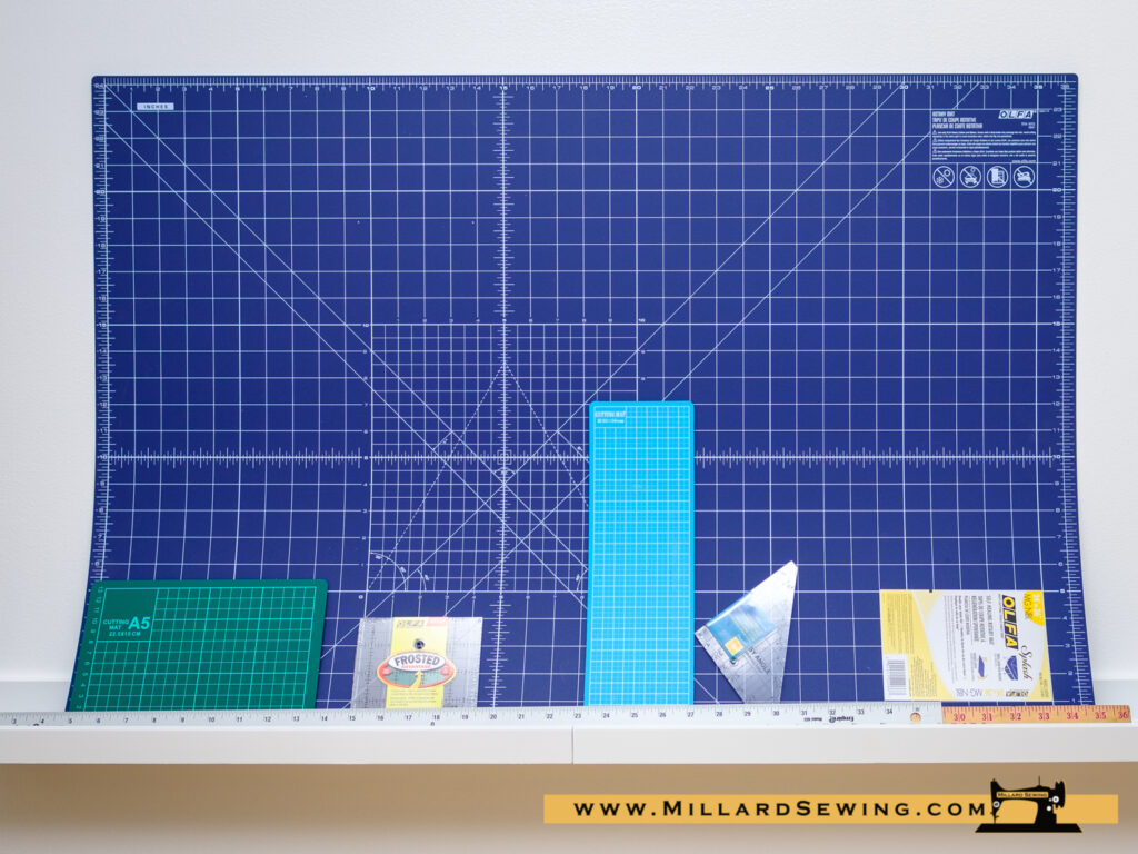 Templates, rulers, & cutting mats to use for your projects.